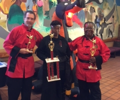 """2nd place in """"Executive (Senior) Divison"""" Tai Chi. At the 11th Annual Fire Dragon Martial Arts Tournament"""
