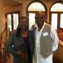 Judge Williams and Campaign Manager Oran McMichael