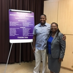 Judge Williams and Sidney Williams - Attorney