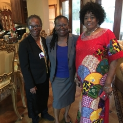 Judge Williams with JoAnn Davis and Mary Nelson