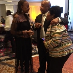 Michael Lofton Founder with Guest Speaker Susan Taylor and Eleanor Thompson