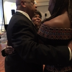 Michael Lofton Founder with Guest Speaker Susan Taylor of Essence Magazine and Eleanor Thompson